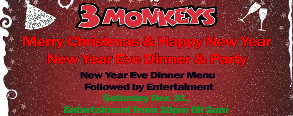 3 Monkeys New Year Eve Party Facebook Banner 02-1012x400