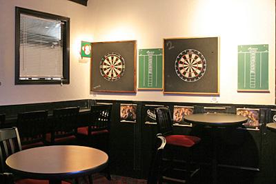 3 Monkeys Pub Dart Board Area