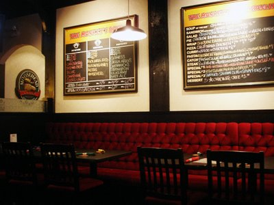 3 Monkeys Eatery Scarborough Dining Room Area